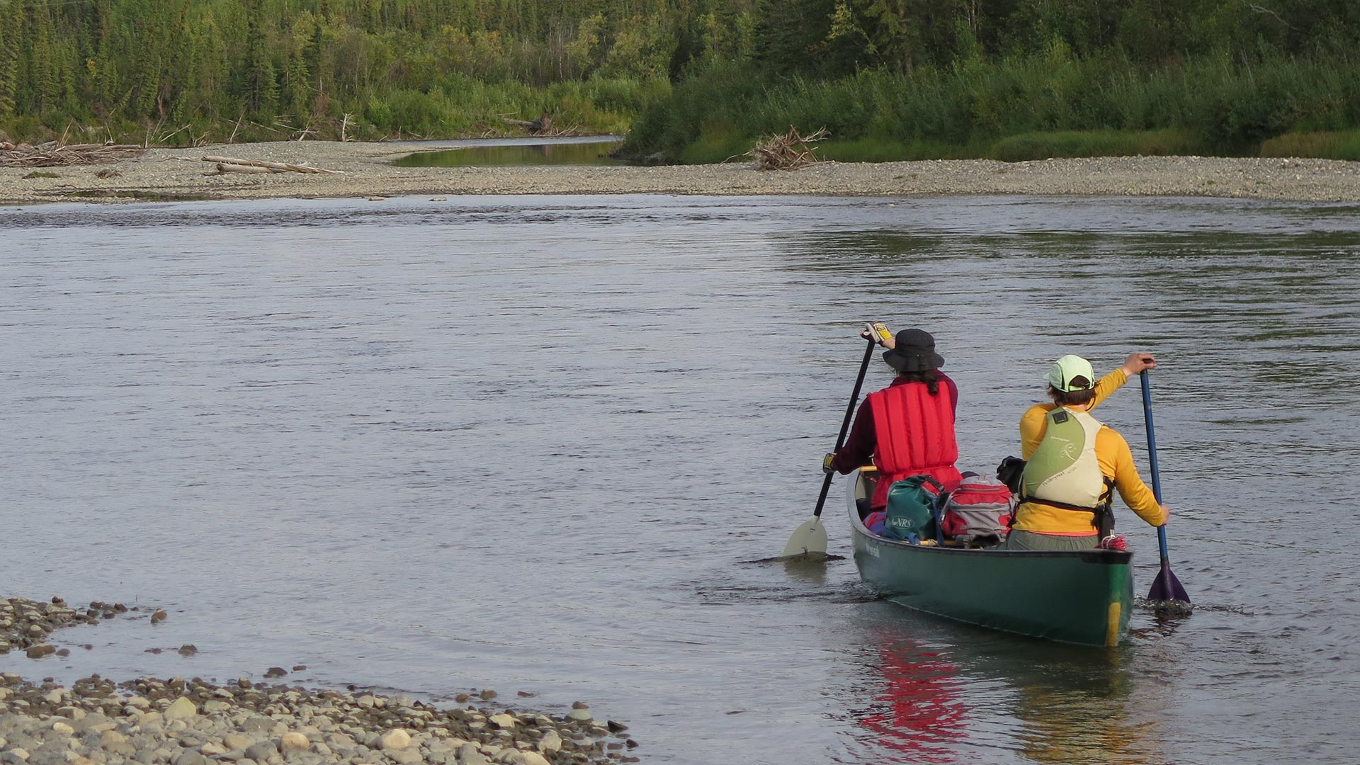 """Featured image for """"River Canoeing"""""""